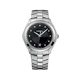 Ebel Classic Sport Black Dial 40 mm Womens Watch
