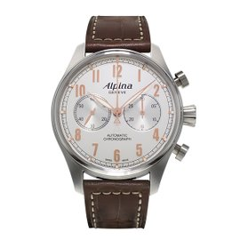 Alpina Startimer Classic Chronograph Stainless Steel 44 mm Mens Watch