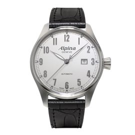 Alpina Startimer Classic Stainless Steel 44 mm Mens Watch
