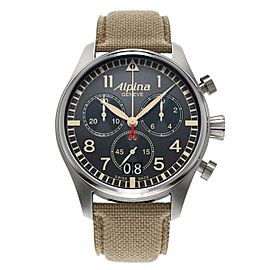 Alpina Startimer Pilot Big Date 44 mm Mens Watch
