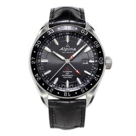 Alpina Alpiner 4 GMT Stainless Steel 44 mm Mens Watch