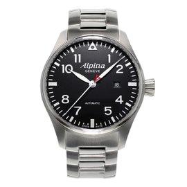 Alpina Startimer Pilot Stainless Steel 40 mm Mens Watch