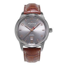 Alpina Stainless Steel Alpiner 41.5 mm Automatic Mens Watch