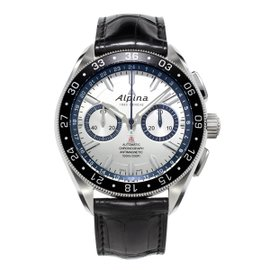 Alpina Alpiner 4 ChronographRace For Water Stainless Steel 44 mm Mens Watch