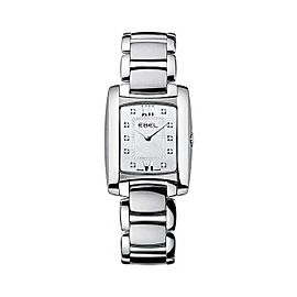 Ebel Brasilia Mini Diamond & Stainless Steel 23.7 mm Womens Watch