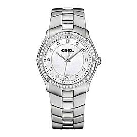 Ebel Sport Diamond & Stainless Steel 32 mm Womens Watch