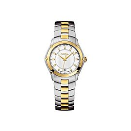 Ebel Classic Sport Two-Tone Stainless Steel and Yellow Gold 27 mm Womens Watch