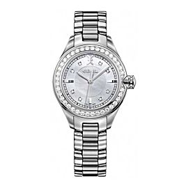 Ebel Onde Diamond & Stainless Steel 30 mm Womens Watch