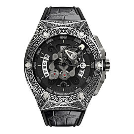 Franck Dubarry Crazy Wheel CW-0406 43.5mm Mens Watch (Pre-Order)