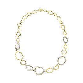 18K Gold Jackson Diamond Necklace