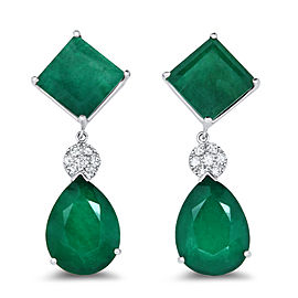 Green Quartz Earring