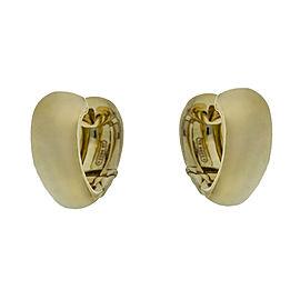 Mattia Cielo 18k Yellow Gold Heart Earrings