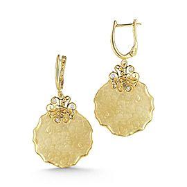 I. Reiss ER3070Y 14k Yellow Gold diamonds0.05 H-SI Diamonds Earrings