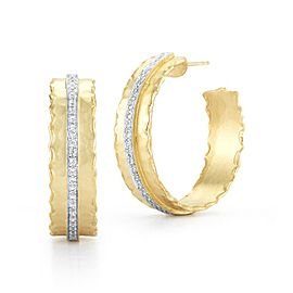 I. Reiss ER3080Y 14k Yellow Gold diamonds0.4 H-SI Diamonds Earrings
