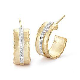 I. Reiss ER3085Y 14k Yellow Gold diamonds0.12 H-SI Diamonds Earrings