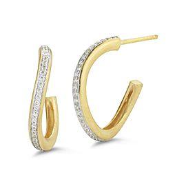 I. Reiss ER3146Y 14k Yellow Gold diamonds0.3 H-SI Diamonds Earrings
