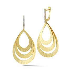 I. Reiss ER3172Y 14k Yellow Gold diamonds0.15 H-SI Diamonds Earrings
