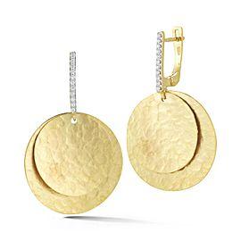 I. Reiss ER3176Y 14k Yellow Gold diamonds0.15 H-SI Diamonds Earrings