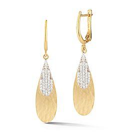 I. Reiss ER3184Y 14k Yellow Gold diamonds0.47 H-SI Diamonds Earrings