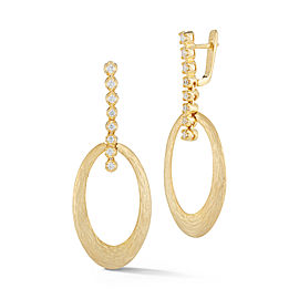 I.Reiss 14K Yellow Gold 0.33 Diamond Earrings