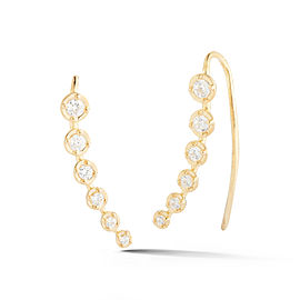 I.Reiss 14K Yellow Gold 0.45 Diamond Earrings