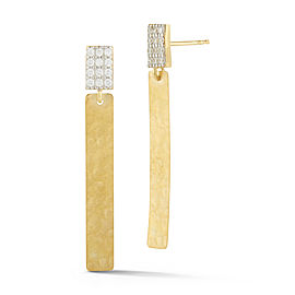 I.Reiss 14K Yellow Gold 0.14 Diamond Earrings