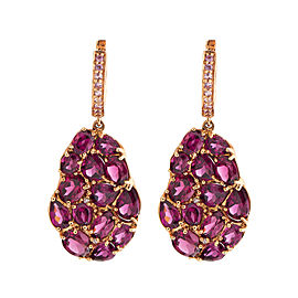 Rina Limor Rhodolite Garnet Earrings