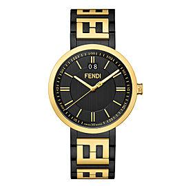 Fendi Timepieces Black 39 mm F105030901