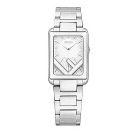 Fendi Timepieces Silver-white 22.5 x 32 mm F107010101