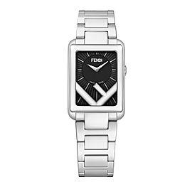Fendi Timepieces Black 22.5 x 32 mm F107010201