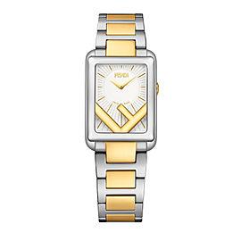 Fendi Timepieces Silver-white 22.5 x 32 mm F107020302