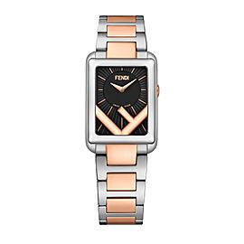 Fendi Timepieces Black 22.5 x 32 mm F107030602