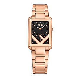 Fendi Timepieces Black 22.5 x 32 mm F107050601