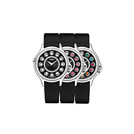 Fendi Crazy Carats Black 33 mm F113021011B2T05