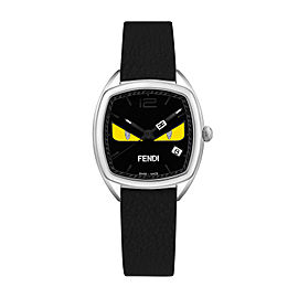 Momento Fendi Bugs Black 31.5x32 mm F222031611D1