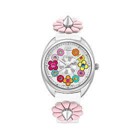 Fendi Momento Fendi Flowerland White and multi-colored 34 mm F234034041