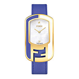 Fendi Timepieces Blue 39 mm F105010801