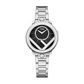 Fendi Timepieces Black 28 mm F711021000D2