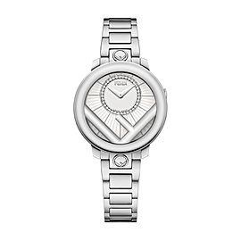 Fendi Timepieces Silver-white 28 mm F711024000D2