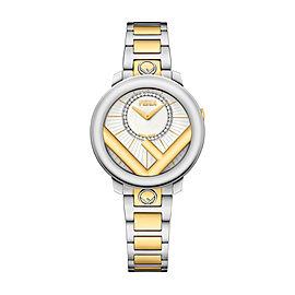Fendi Timepieces Silver-white 28 mm F711124000D2