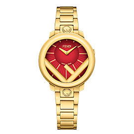Fendi Timepieces Red 28 mm F711427000