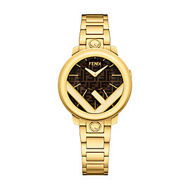 Fendi Timepieces Brown 28 mm F714422000