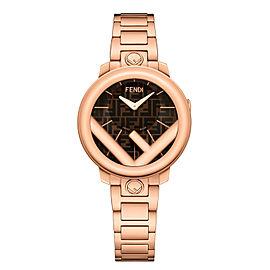 Fendi Timepieces Brown 28 mm F714522000