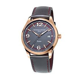 Frederique Constant Healey FC-303GBRH5B4 Leather 40mm Mens Watch