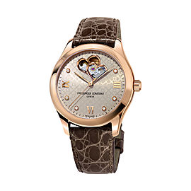 Frederique Constant Ladies Double Heart Beat Automatic FC-310LGDHB3B4