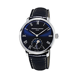 Frederique Constant Slimline Manufacture Moonphase FC-705NR4S6