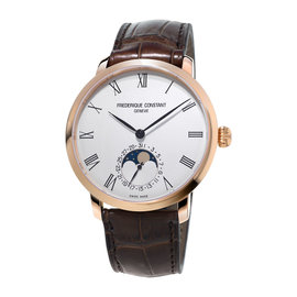 FREDERIQUE CONSTANT SLIMLINE MANUFACTURE MOONPHASE FC-705WR4S4