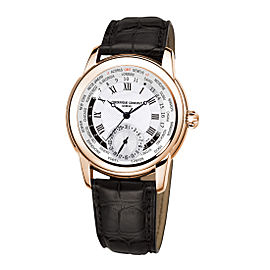 Frederique Constant Worldtimer FC-718MC4H4 42mm Mens Watch