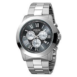 Ferre Milano Black Silver SS FM1G079M0071 Watch