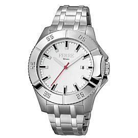Ferre Milano White Silver SS FM1G085M0051 Watch
